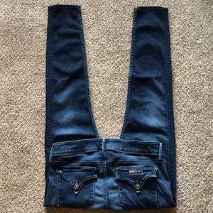Hudson Collin Flap Skinny Jeans size 30